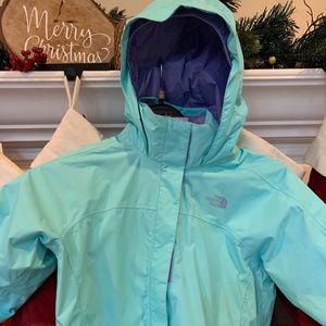 The North Face Mint Girls Rain Jacket